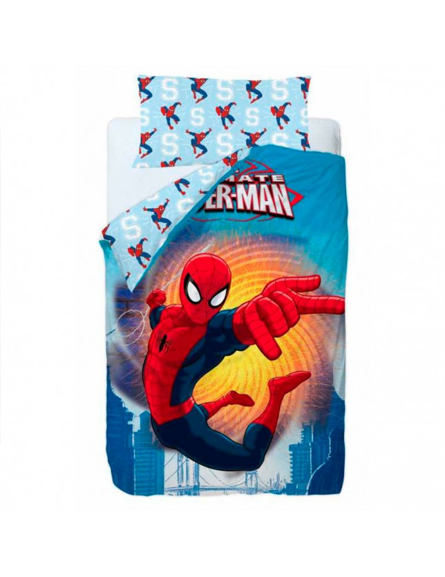 FUNDA NORDICA SPIDERMAN FIRE, MARVEL.