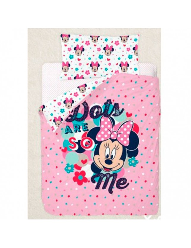 FUNDA NORDICA MINNIE LOVE, DISNEY.